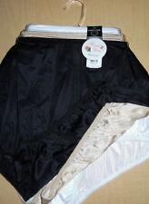 3 Vanity Fair 15712 Panty Black Beige White Nylon Brief Set 6 7 8 9 10 11 12 NWT