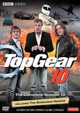TOP GEAR COMPLETE SEASON 10  NEW FACTORY SEALED 3 DVD BBC REGION 1 NTSC