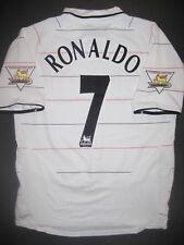 2003-2004 Nike Manchester United Cristiano Ronaldo Jersey Shirt Kit Third White