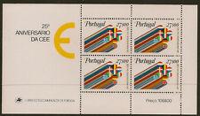 PORTUGAL: 1982 European Economy  miniature sheet SG MS1868 unmounted mint