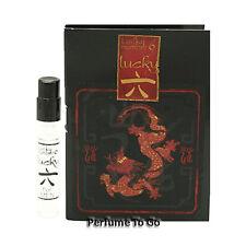 Lucky Number 6 for Men by Lucky Brand NEW Fragrance Travel Vial Sample EDT Spray