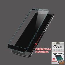Motorola Moto E5 Plus Suprae FULL COVERAGE Tempered Glass Screen Protector Cover