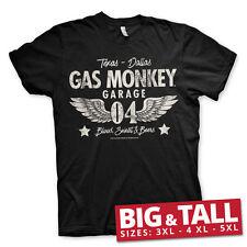 Officially Licensed Gas Monkey Garage- 04-WINGS 3XL, 4XL, 5XL Men's T-Shirt