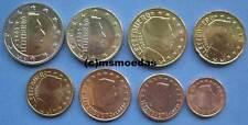 Luxemburg 8 Euromünzen Euro KMS von 1 Cent bis 2 Euro coins moedas Jahr Wahl