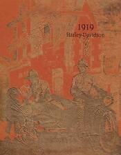1919 HARLEY DAVIDSON SALES BROCHURE