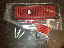 Triumph Trophy 900 Kit de mantenimiento Filtro aceite Pipercross aire bujías
