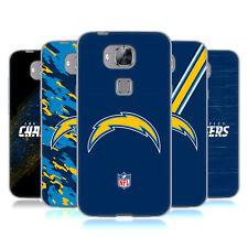 OFFICIAL NFL Los Angeles Chargers Logo Soft Gel Custodia per Huawei Telefoni 2