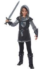Brand New Noble Knight Renaissance Girls Child Costume