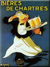 French Advert Sign - Beer Bieres De Chartres