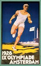 "1928 Amsterdam Summer Olympics Ad Poster - 6.25"" x 10"" Photo"