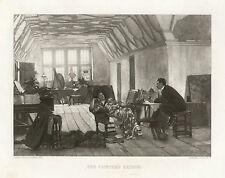 Painter Artist Studio Model Chicago World's Fair 1893 Antique Art Print Scarce