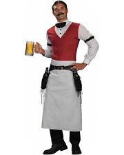 C399 Mens Bartender Bar Adult Uniform Halloween Fancy Dress Costume Outfit