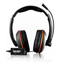 Turtle Beach Ear Force KILO Call of Duty Black/Orange Headband Headsets