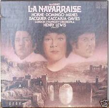 MASSENET: La Navarraise-1975LP HORNE/DOMINGO/MILNES/LSO