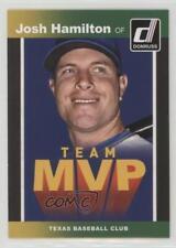 2014 Panini Donruss Team MVP's #5 Josh Hamilton Texas Rangers Baseball Card