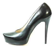 new $495 R & RENZI GIANMARCO LORENZI black platforms heels shoes 39 9 - HOT