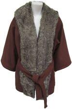 Women's Evening Luxurious Faux Lapel Coat