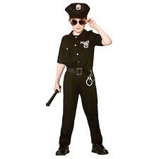 New York Cop Police loi uniforme crime Garçon Enfants Costume Robe Fantaisie Enfant