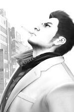 RGC Huge Poster - Yakuza 3 Kazuma Kiryu PS3 XBOX 360 - NVG233