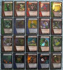 Vs system web of spider-man foil cards [partie 1/4] (msm, spiderman)