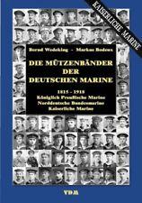 Die Mützenbänder der Deutschen Marine 1815-1918, Kaiserreich Preußen Bildband