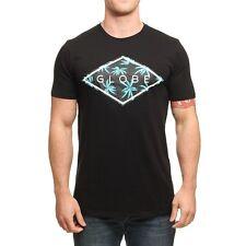 Maglietta T-shirt Globe Fenwick Nero Black 100% Cotone