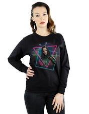Marvel Women's Guardians of the Galaxy Neon Mantis Sweatshirt