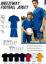 Bocini Unisex Adults FootBall Soccer Sports Jersey Tee Shirt Moisture Wicking