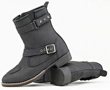 Joe Rocket Womens Moto Adira Leather Motorcycle Boots (See Sizes) Matte Black