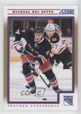 2012-13 Score Gold Rush #316 Michael Del Zotto New York Rangers Hockey Card
