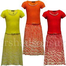 Kids Girls Chiffon Maxi Dress Animal Print Summer Long Party Dresses With Belt