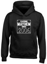Causing Mayhem Since 2006 Birthday Kids Childrens Hoodie