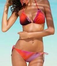 Poolside bikini bikini-set al cuello colorido talla 34/36/cup a nuevo