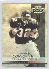 2001 Playoff Honors X's and O's #87 Jamal Anderson Atlanta Falcons Football Card