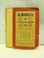 ALMANACCO DI STRAPAESE - MACARI, LONGANESI, CORA, RICCI, VOLTA  (b2)