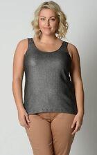 Sportsgirl Ladies Sleeveless Fashion Top sizes 6 8 10 Colour Silver