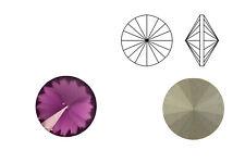 Swarovski Crystals® Rivoli (1122) amethyst, SS39 - 8 mm | Menge wählbar (6, 10 S