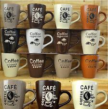 2 er Set Tassen Becher Keramik Kaffeetasse Keramik Retro Nostalgie Tasse NEU