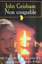LIVRE POCKET - JOHN GRISHAM - NON COUPABLE - 1997