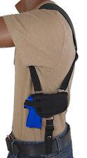 Barsony Gun Horizontal Shoulder Holster for Bersa, Star 380 UltraComp 9mm 40 45