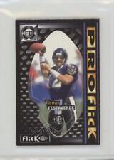 1997 PROflick FlickBall #39 Vinny Testaverde Baltimore Ravens Football Card