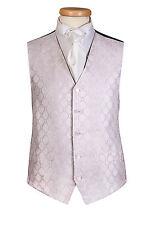 ALEXANDER PINK DIAMOND WEDDING FORMAL DRESS WAISTCOAT ALL SIZES £10 WAIST COAT