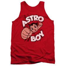 Astro Boy Flying Mens Tank Top Shirt Red