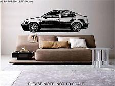 VW JETTA MK4 Auto-Wall Art Sticker, Decalcomania