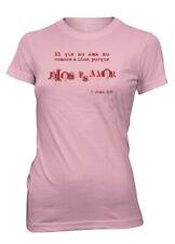 Aprojes Dios es Amor 1 Juan Versiculo Biblia Camiseta Cristiana Talla Juvenil