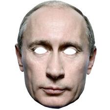 Vladmir Putin Celebrity 2D TESSERA PARTITO Face Mask Fancy Dress Up Presidente russo