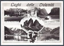 DOLOMITI LAGHI MISURINA BRAIES DOBBIACO ANTERSELVA - BOLZANO BELLUNO Cartolina