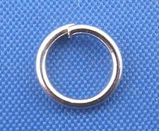 Lot 50 ou 100 Anneaux de jonction Ouvert Argenté Mat 7mm, Creation bijoux, 7 mm