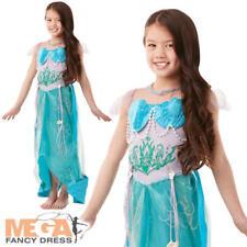 Deluxe Mermaid Princess Girls Fancy Dress Kids Fairytale Book Week Child Costume