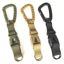 Tactical Buckle Carabiner Quick Release Keyring Belt Backpack KeyChain Clip Hook